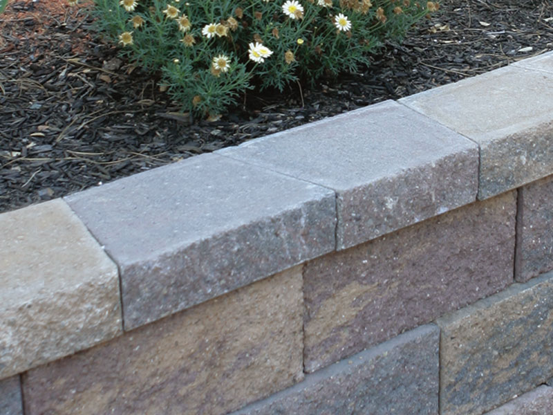 Whiz Q Stone 4 Quot Trapezoid Wall Caps