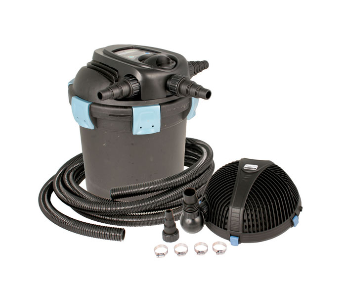 Whiz q stone ultraklean 1500 filtration kit 2000 pressure for Decorative pond filters