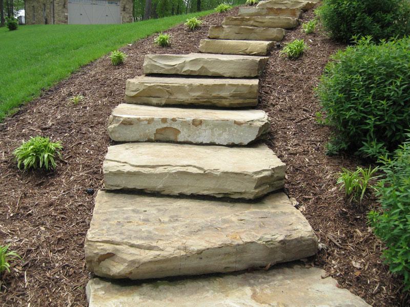 Natural Stone Steps : Whiz q stone natural